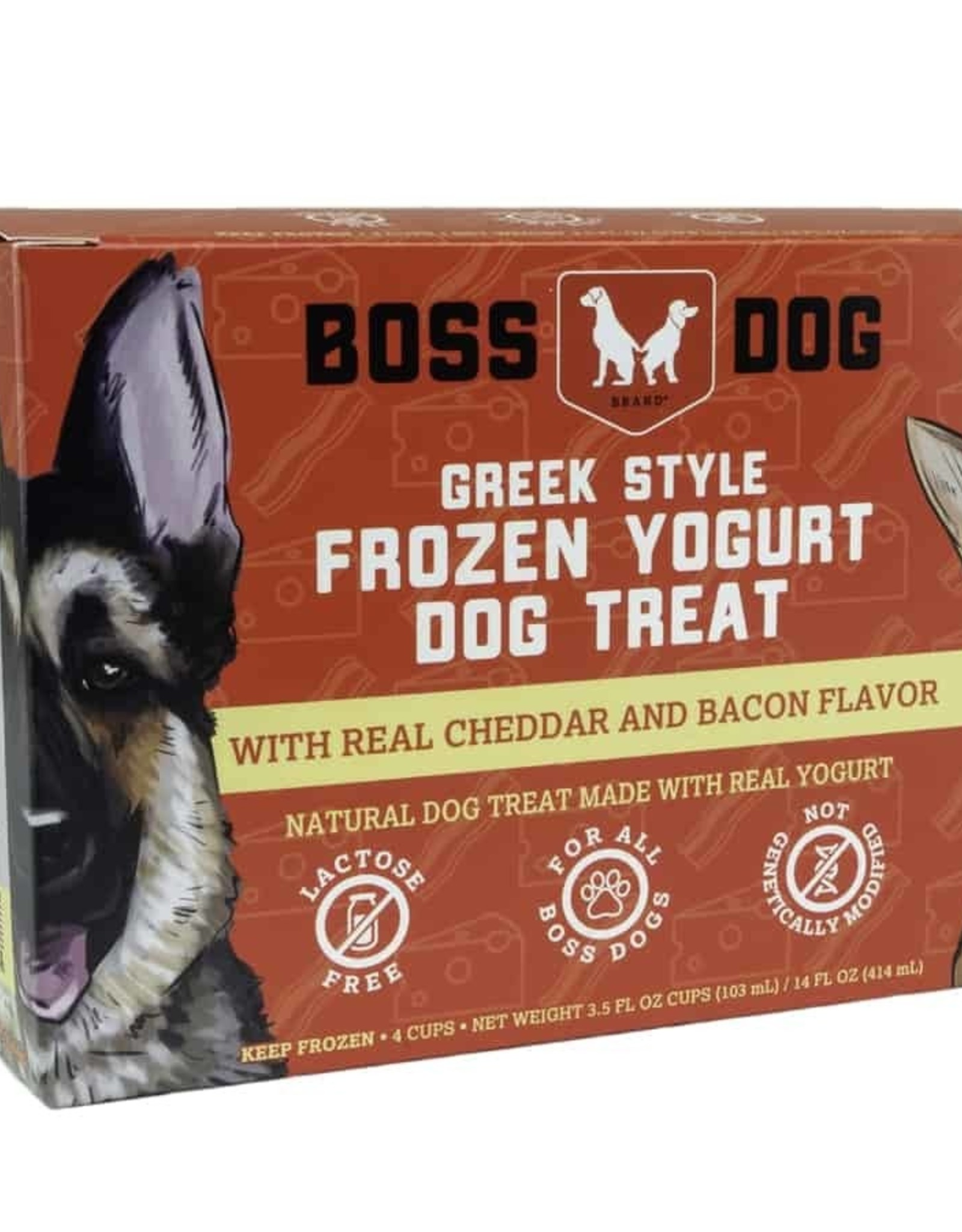 Boss Dog Boss Dog Frozen Yogurt Cheddar & Bacon