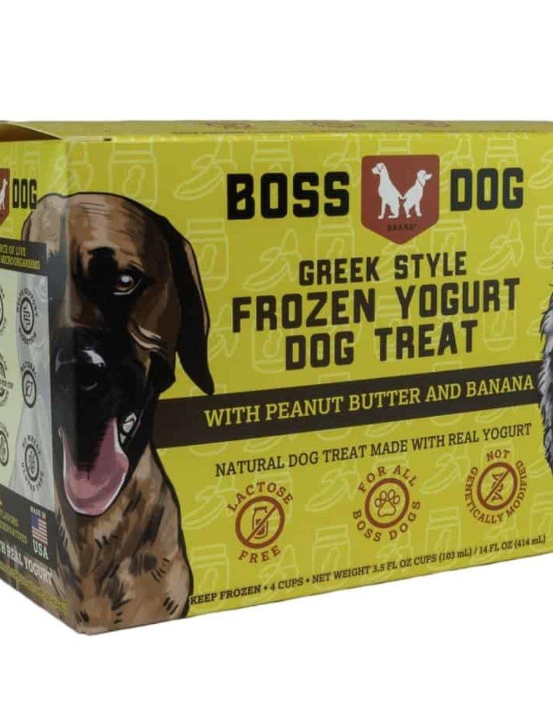 Boss Dog Boss Dog Frozen Yogurt Peanut Butter & Banana
