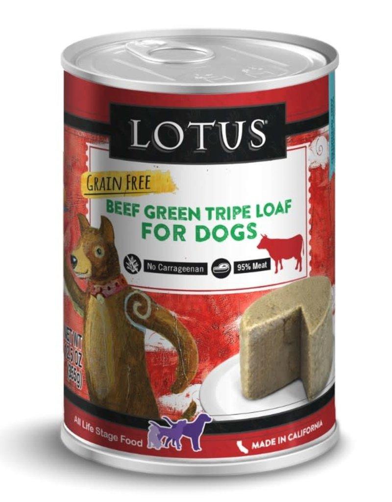 Lotus Lotus Beef Green Tripe Loaf