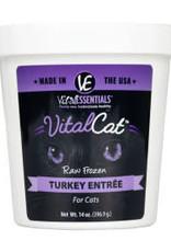 Vital Essentials Vital Essentials Cat Frozen Turkey Tub 14oz