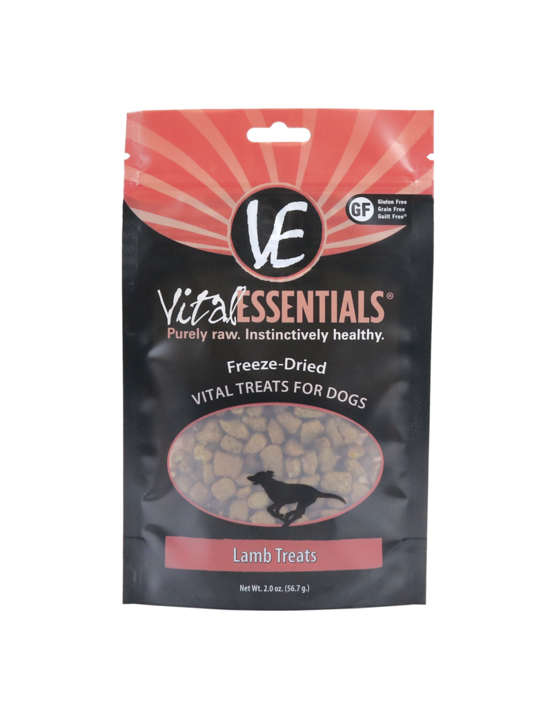 Vital Essentials Vital Essentials Dog Treat Lamb Bites 2.0oz