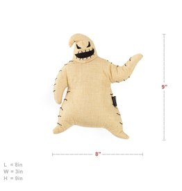 Sentiments Nightmare Before Christmas Oogie Boogie Plush Chew Toy