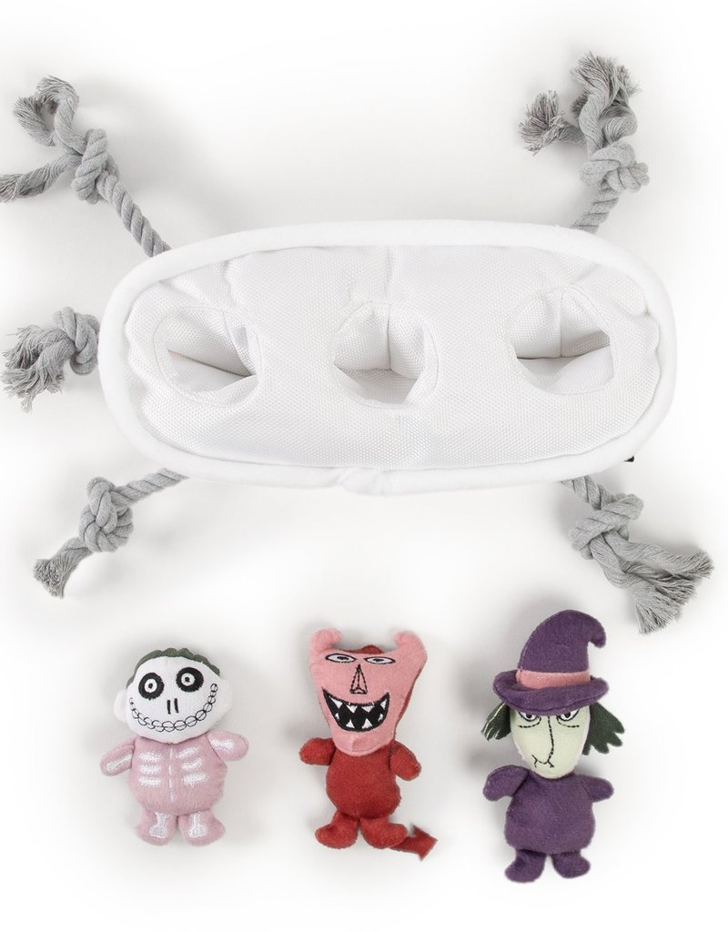 Sentiments Nightmare Before Christmas Lock, Shock, & Barrel Burrow Toy