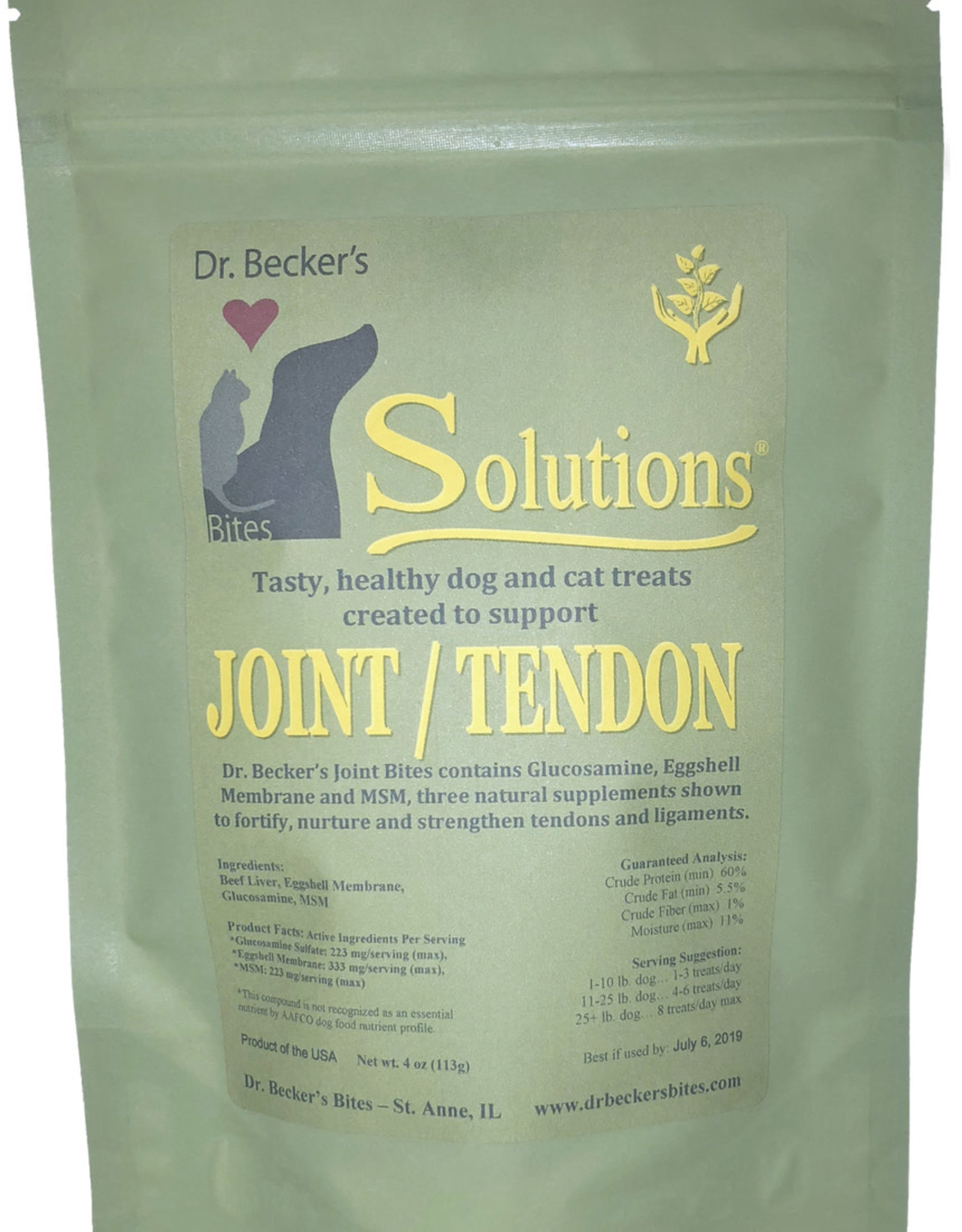Dr Becker Bites Dr. Becker's Solutions Joint/Tendon Bites