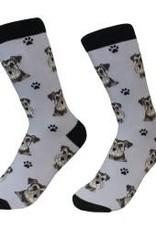 Schnauzer, Uncropped Socks