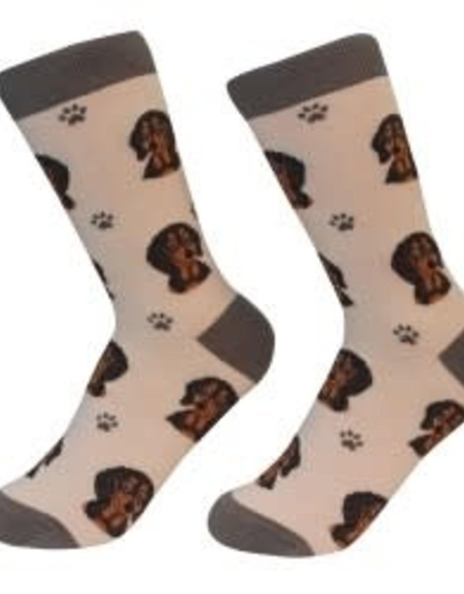 Dachshund Black Socks