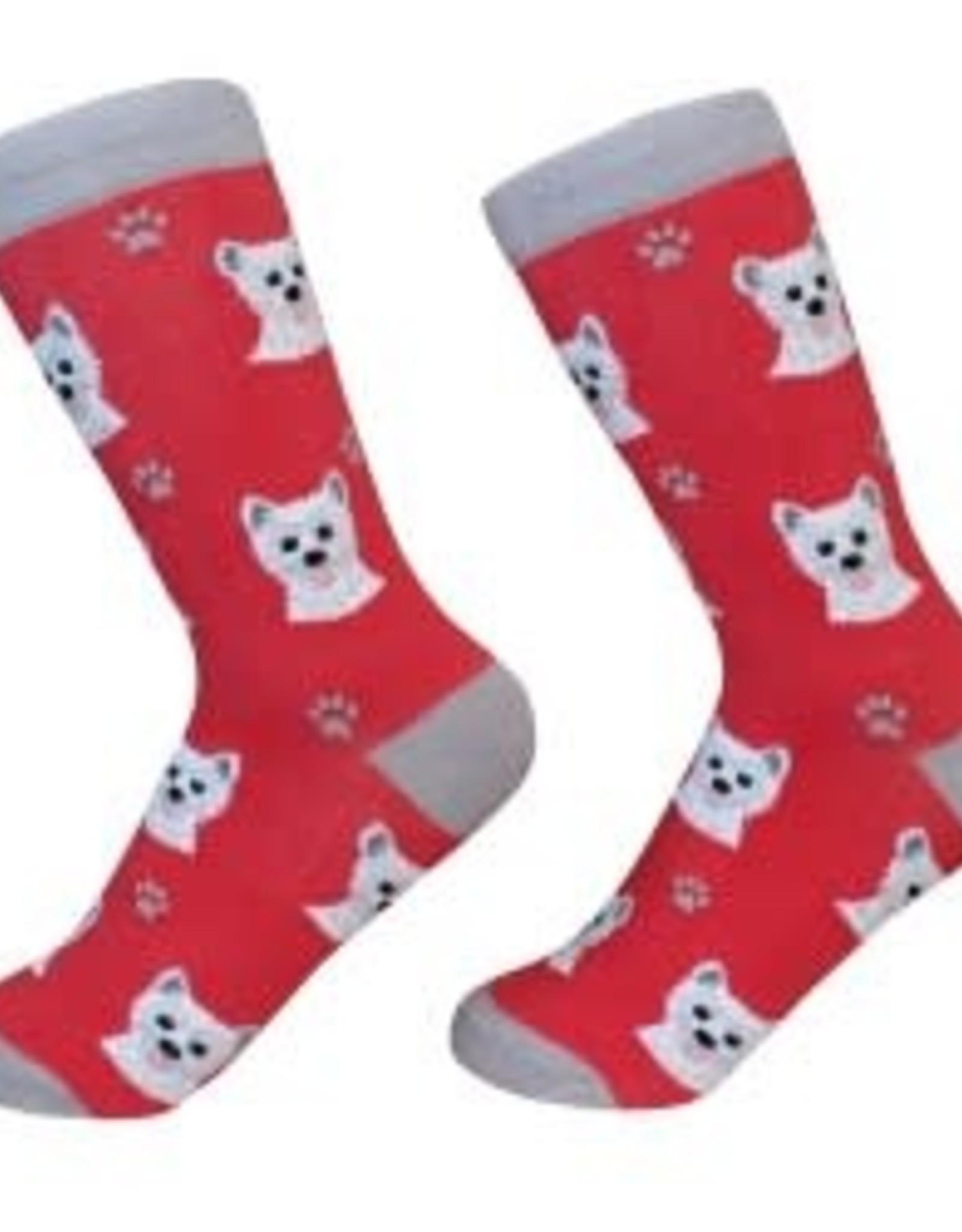 Westie Socks