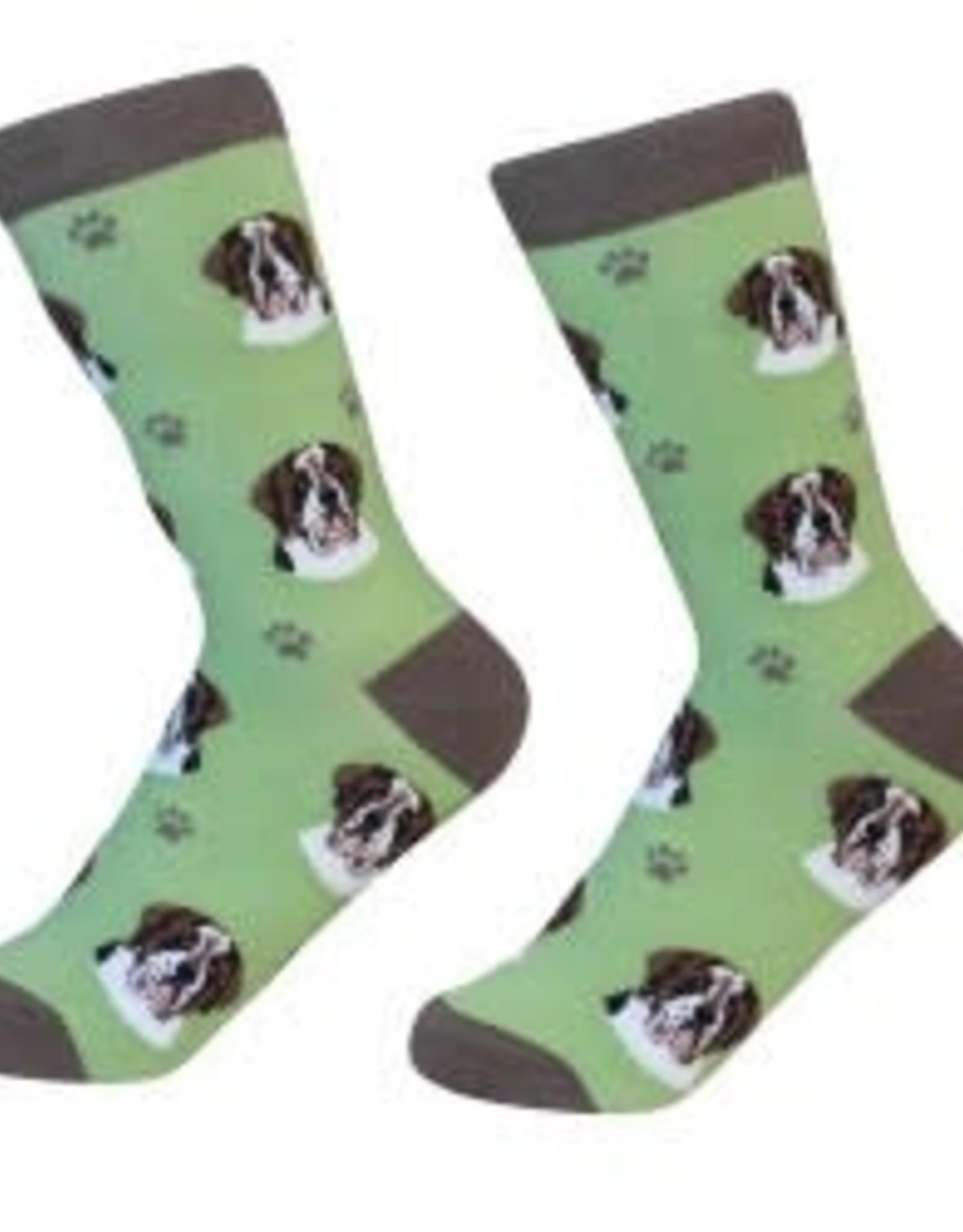 Saint Bernard Socks
