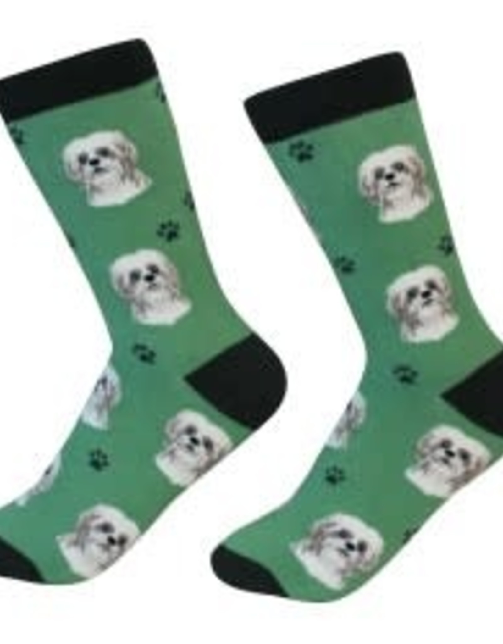 Shih Tzu Tan Socks