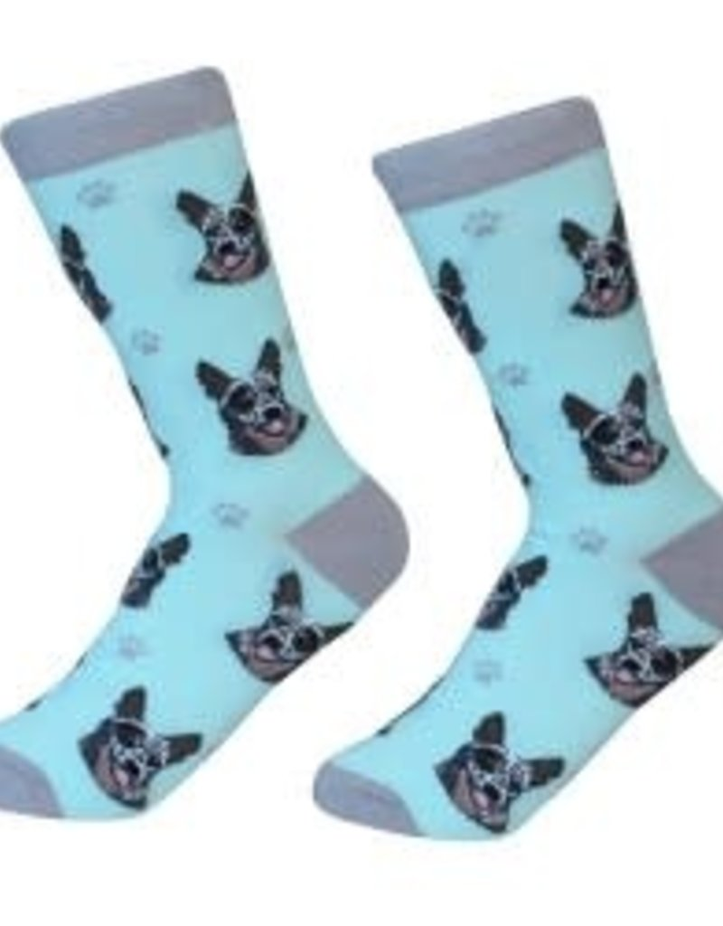 Australian Cattle Dog Socks