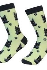 Cat - Black Socks