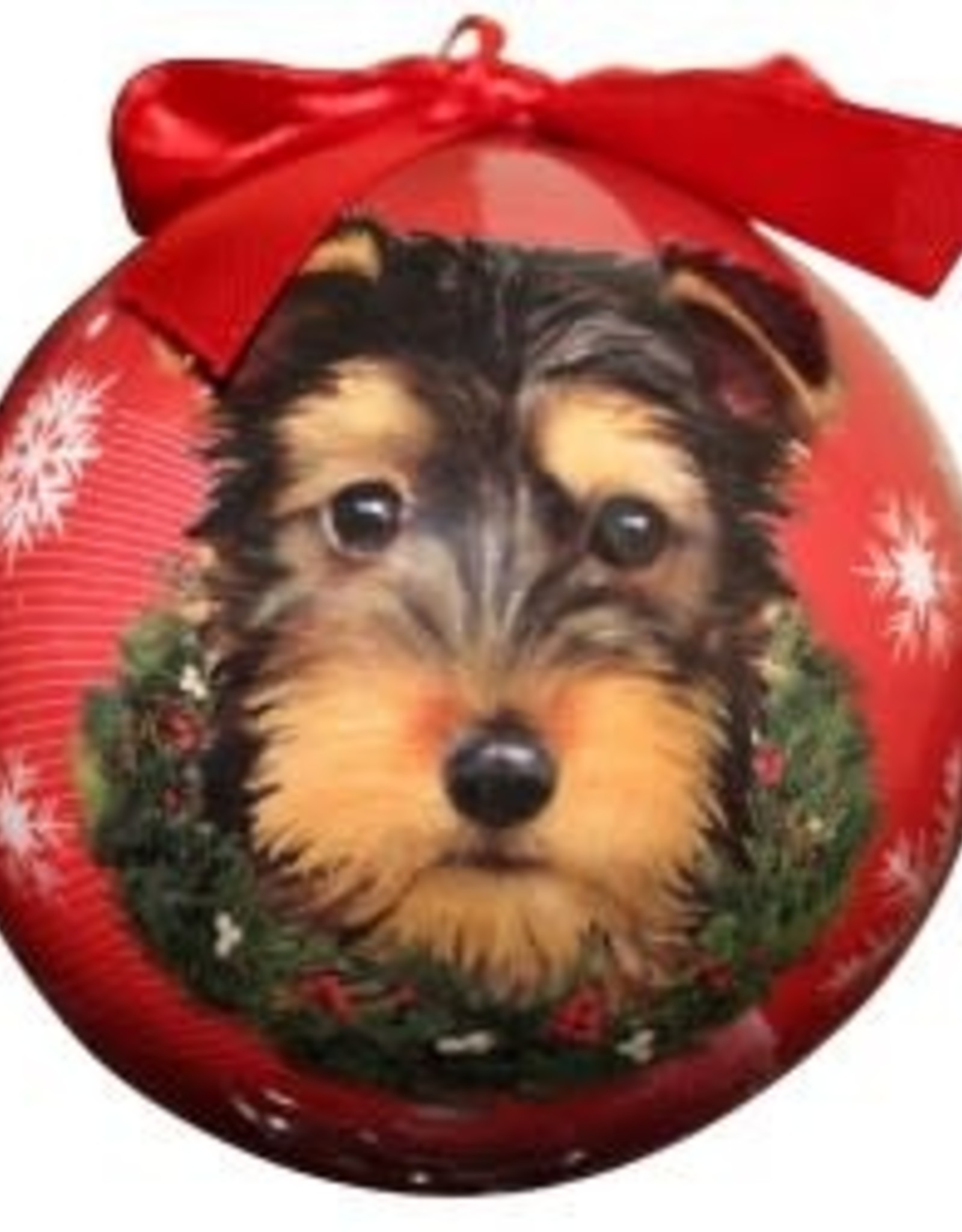 Yorkie Pup Ornament