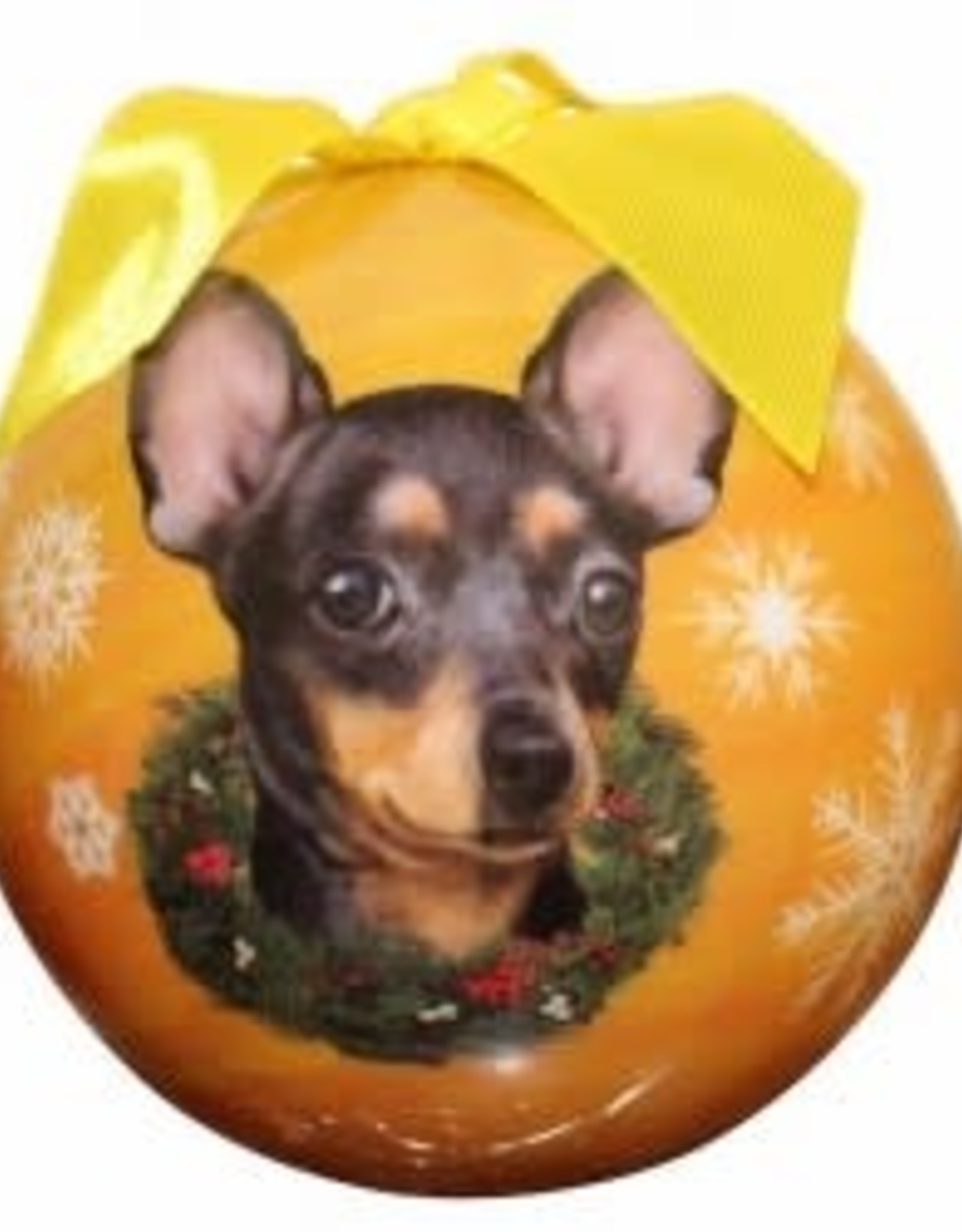 Chihuahua Black Ornament