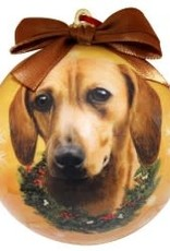 Dachshund Red Ornament