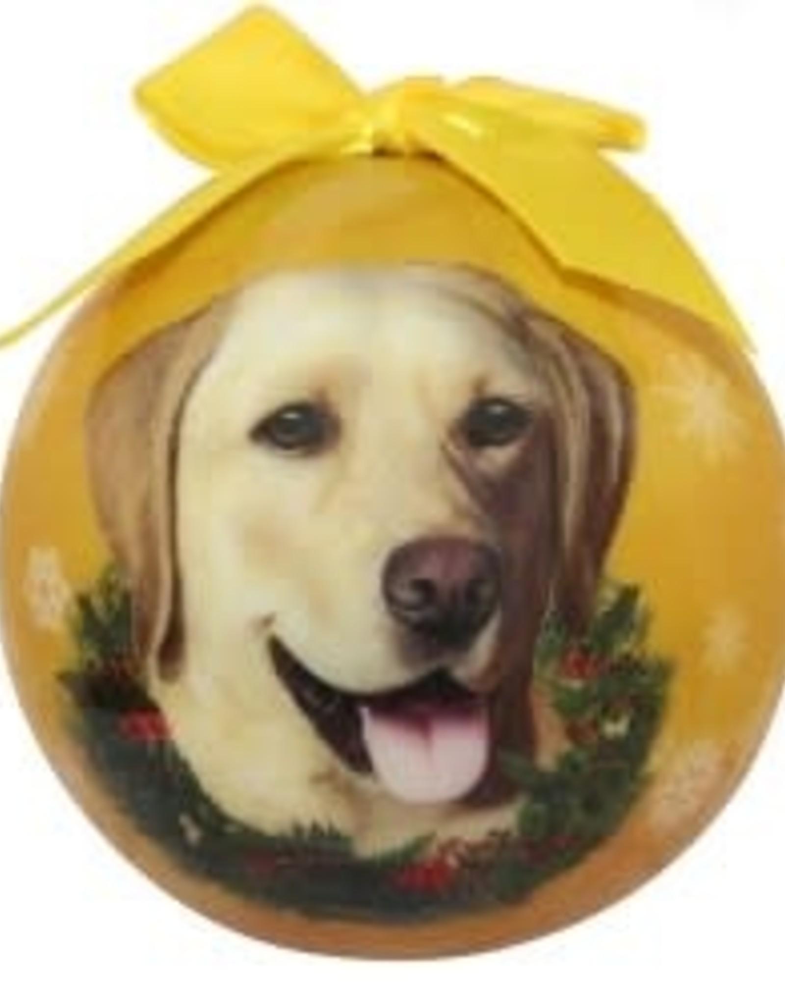 Labrador, Yellow Ornament