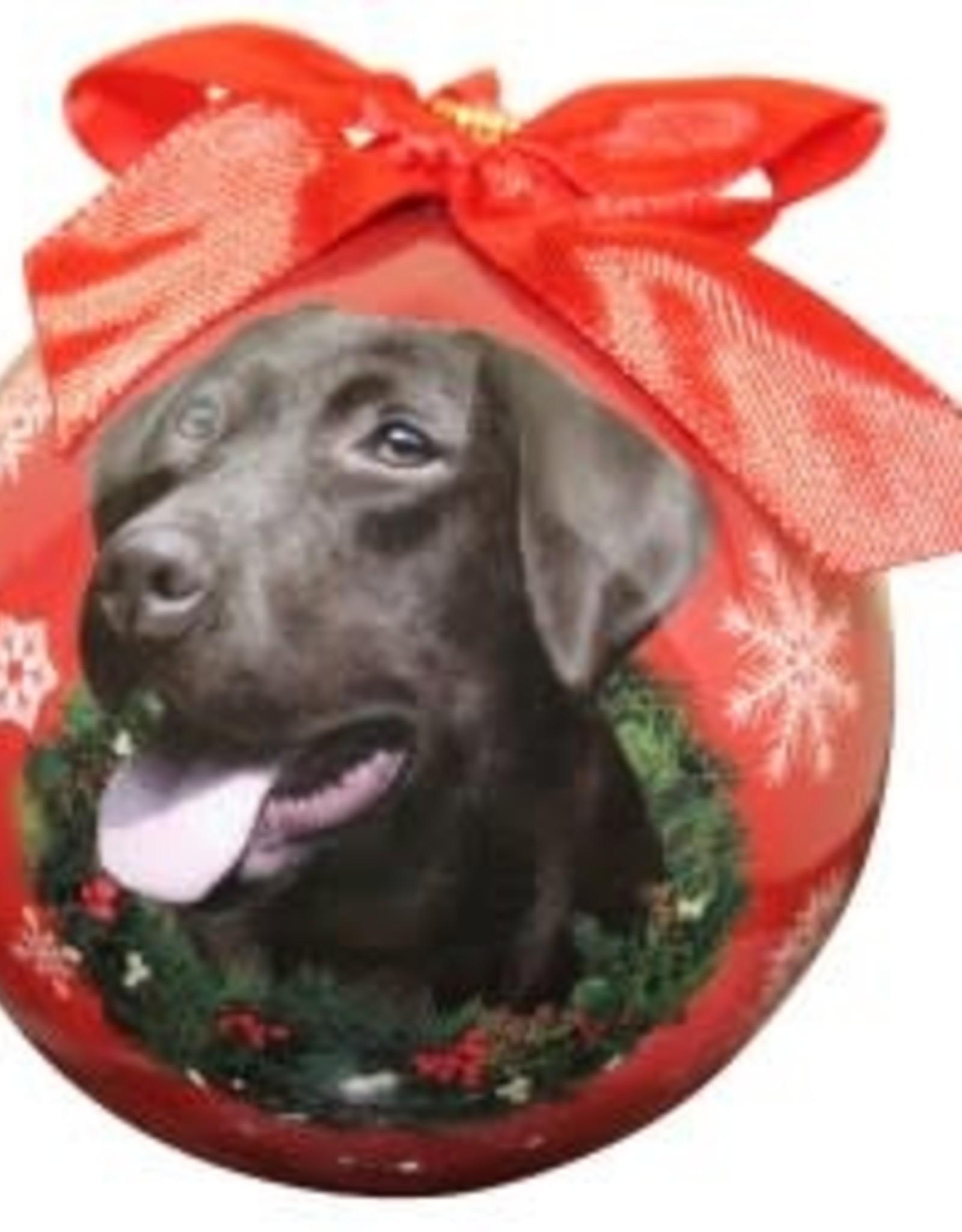 Labrador, Chocolate Ornament