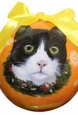 Cat - Black & White (Tuxedo) Ornament