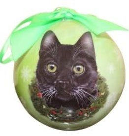 Cat - Black Ornament