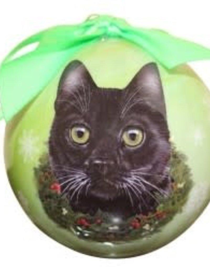 Cat - Black Ornament