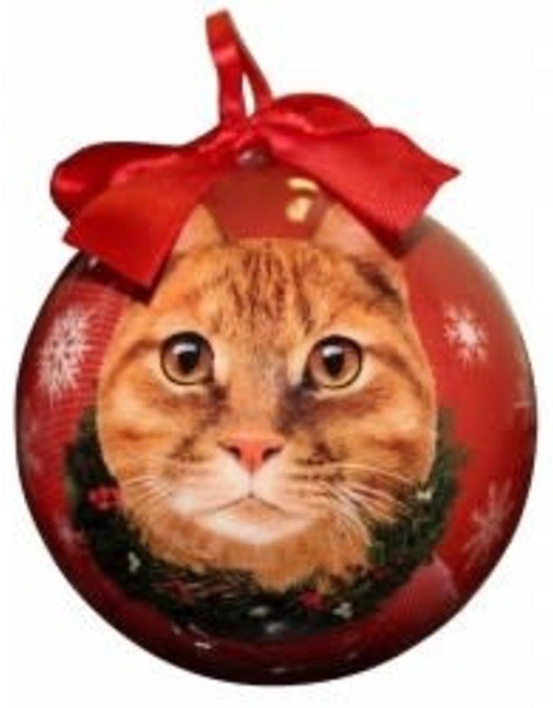 Cat - Orange Tabby Ornament