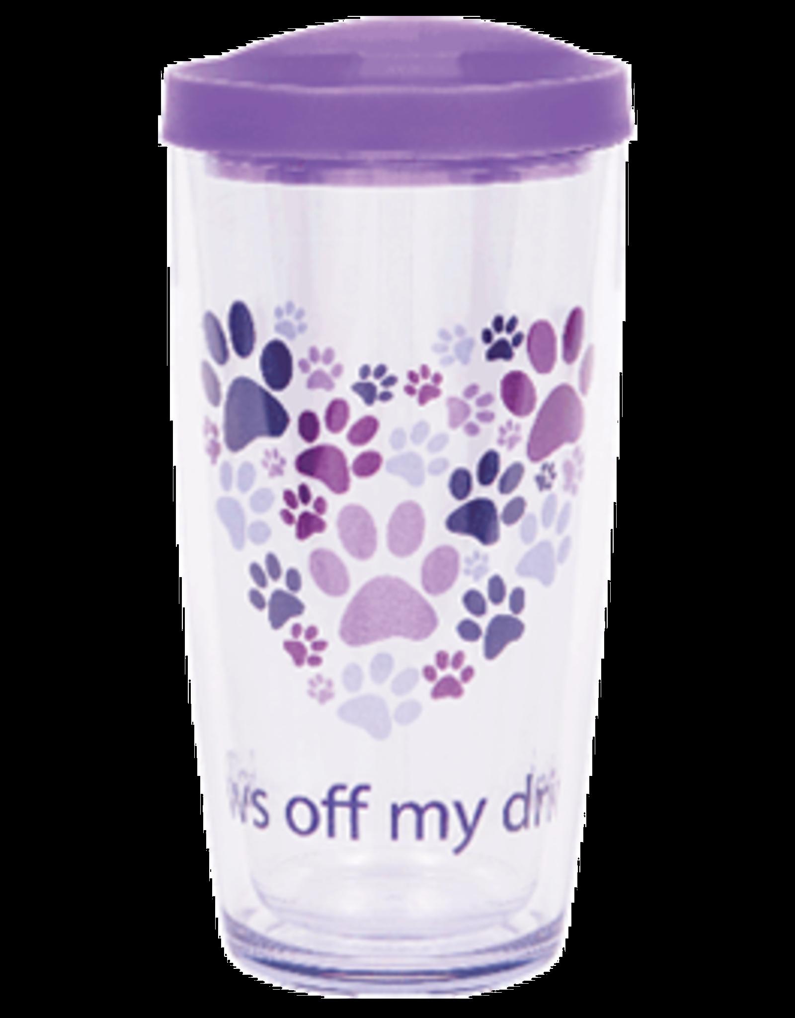 Dog Speak 16oz Thermal Tumbler - Paws Off My Drink