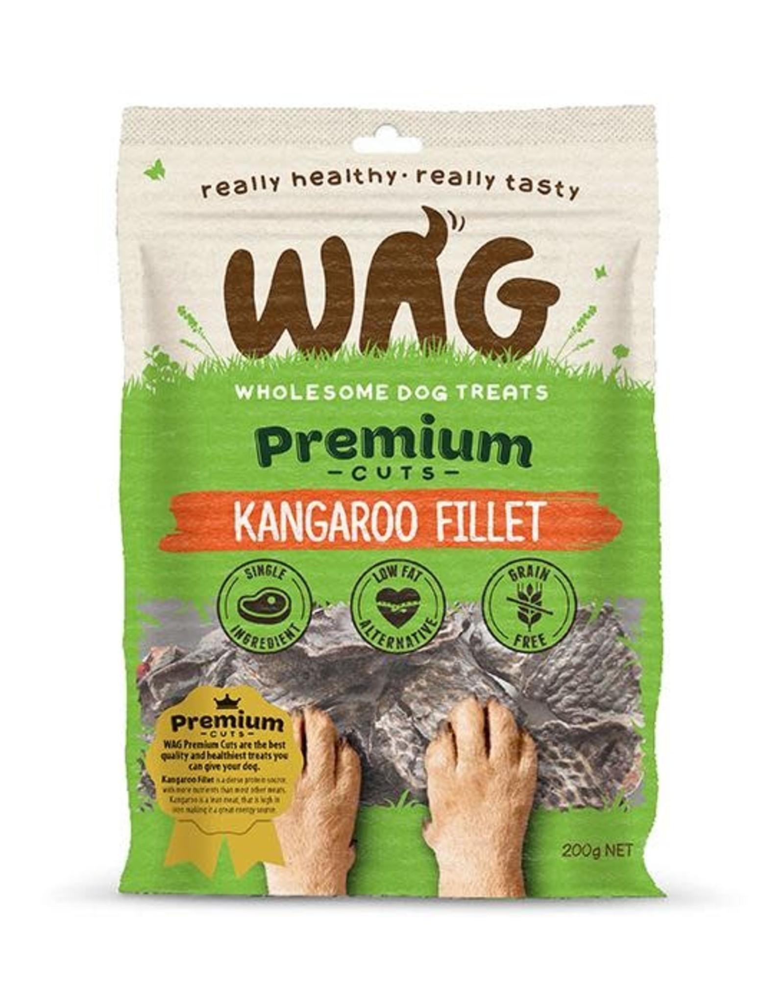 WAG WAG Kangaroo Fillet (Heart)