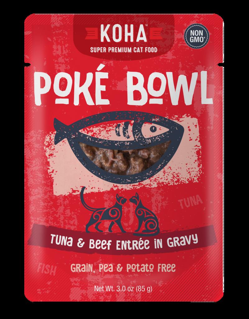 Koha Koha Poke Bowls Tuna & Beef for Cats