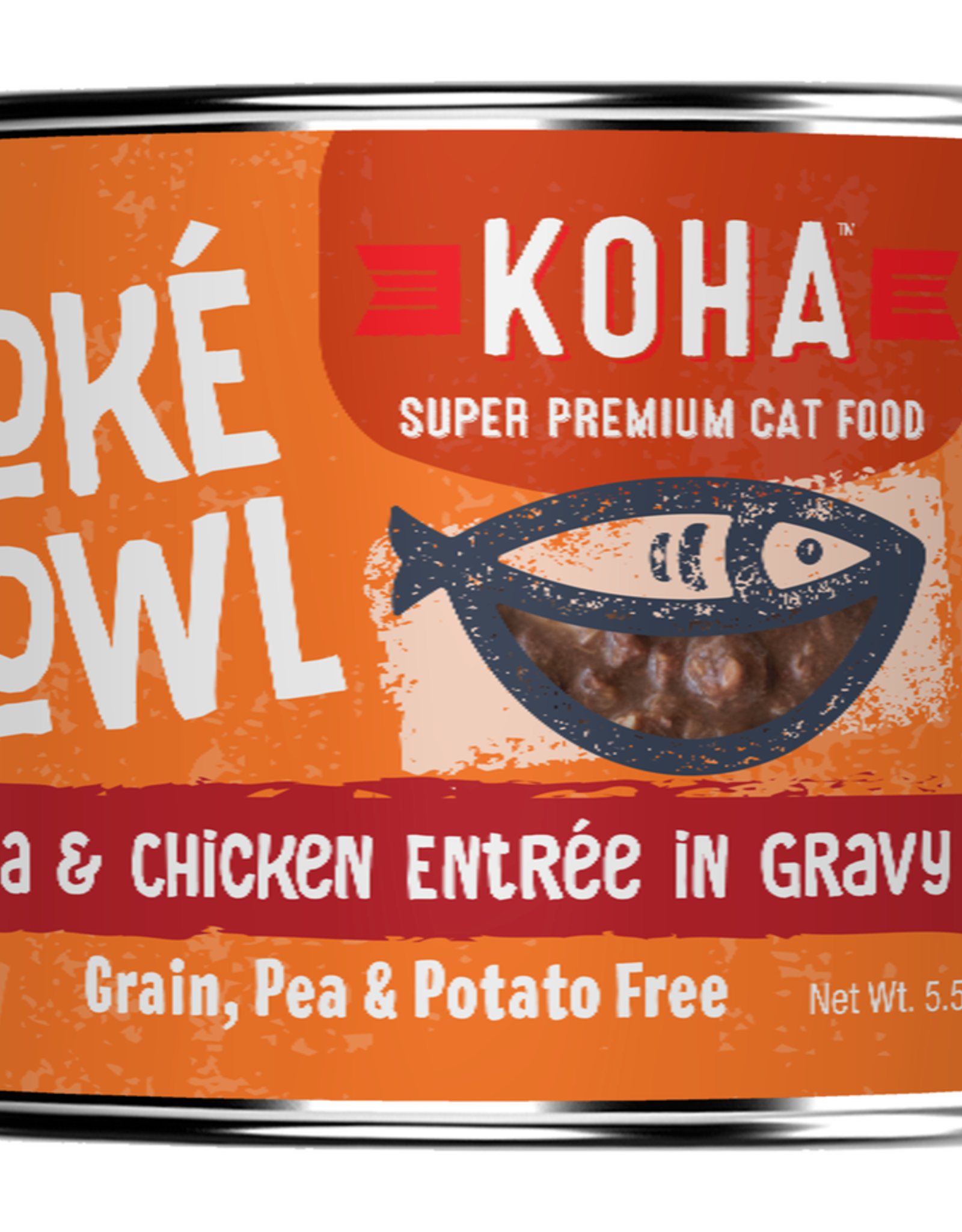 Koha Koha Poke Bowls Tuna & Chicken for Cats