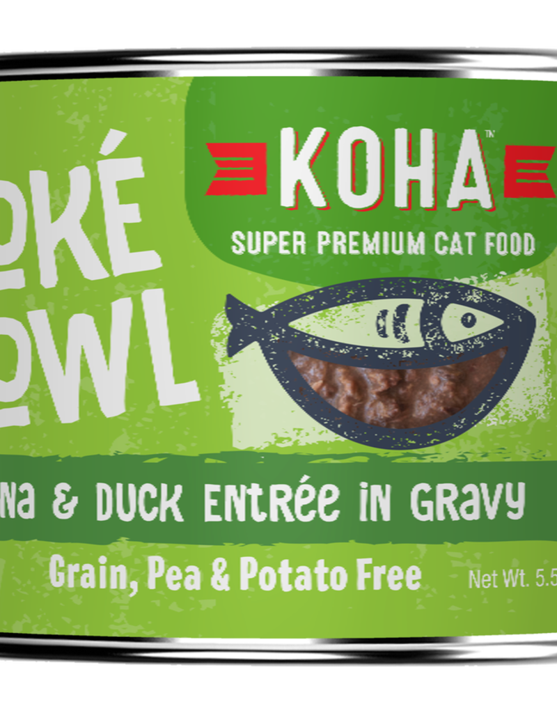 Koha Koha Poke Bowls Tuna & Duck for Cats