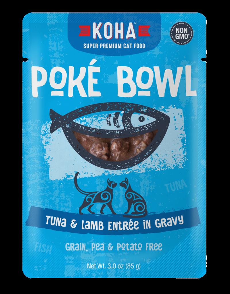 Koha Koha Poke Bowls Tuna & Lamb for Cats