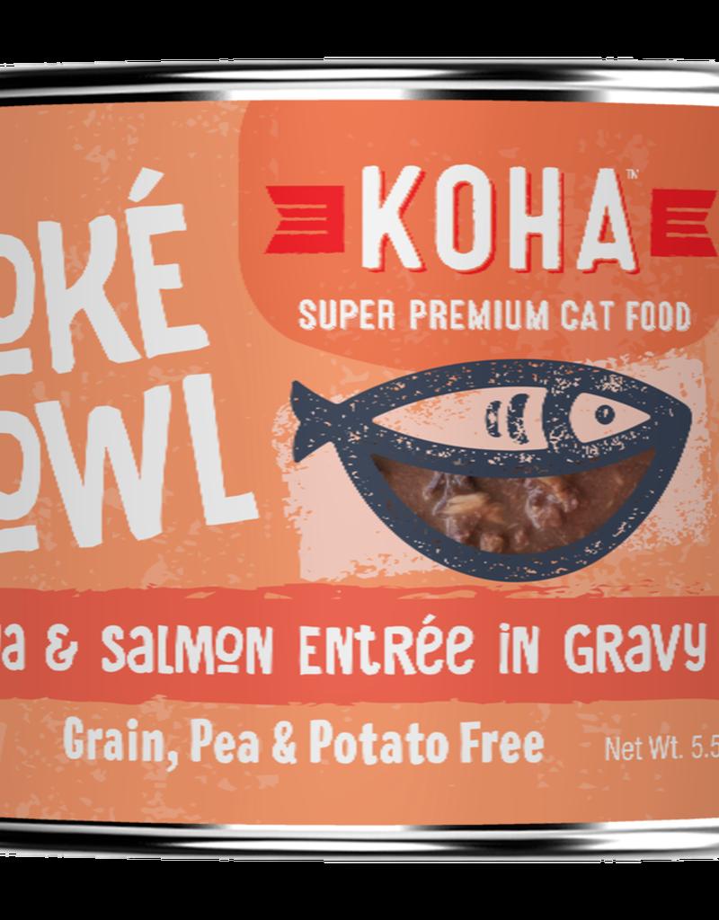 Koha Koha Poke Bowls Tuna & Salmon for Cats