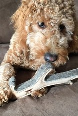 """Tall Tails Tall Tails Natural Leather Antler Toy 10"""""""