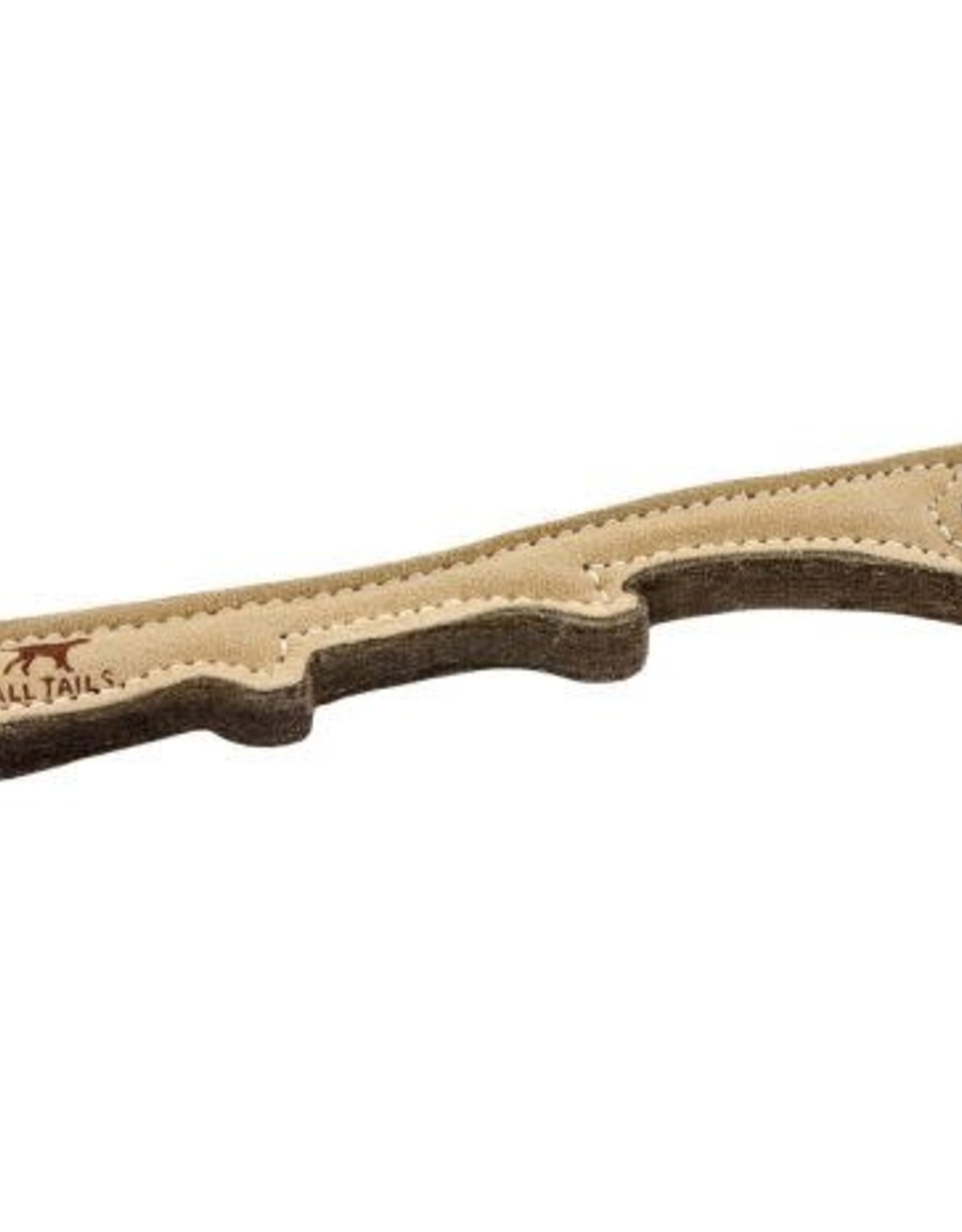 """Tall Tails Tall Tails Natural Leather Stick Toy 12"""""""
