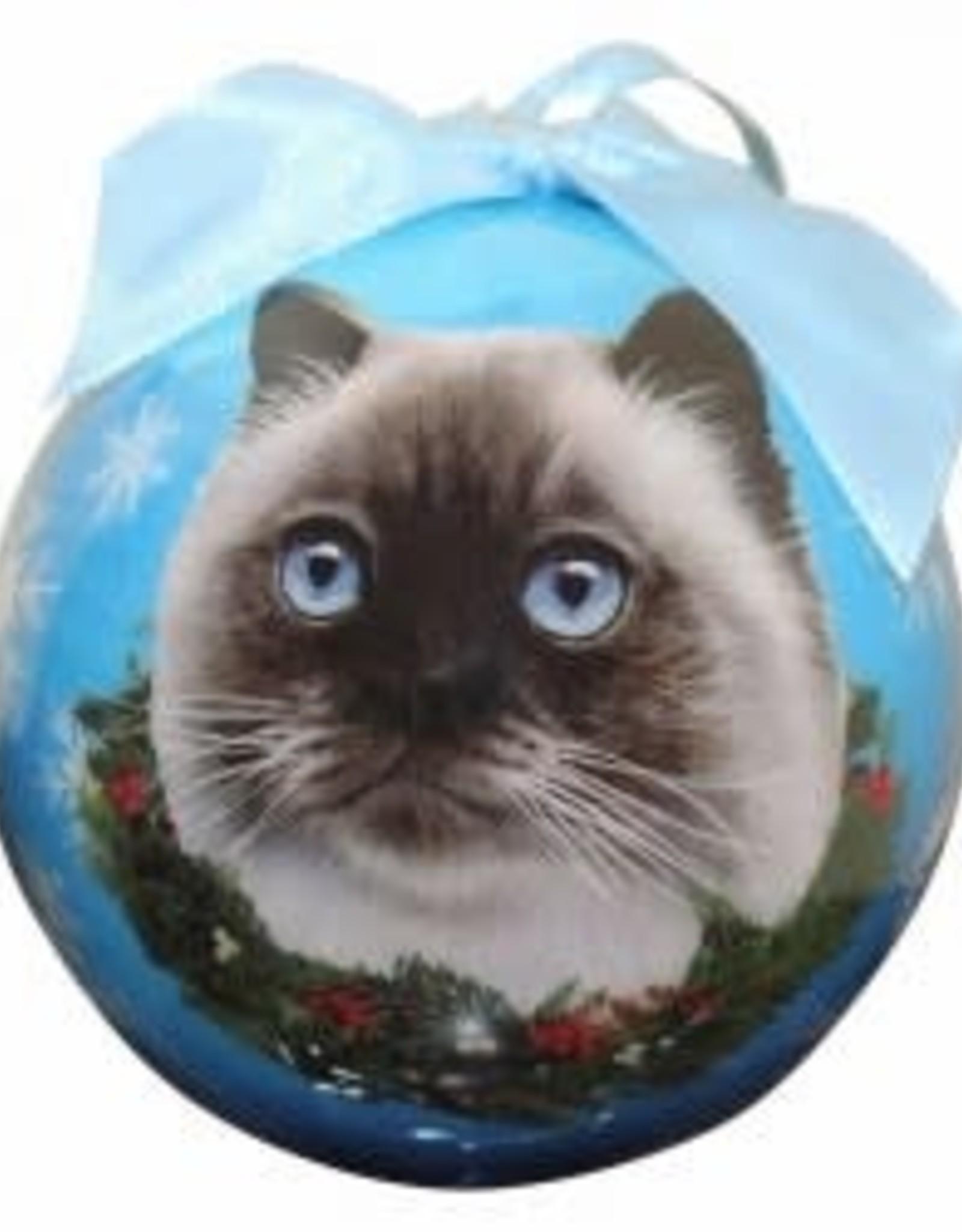 Cat - Himalayan Ornament