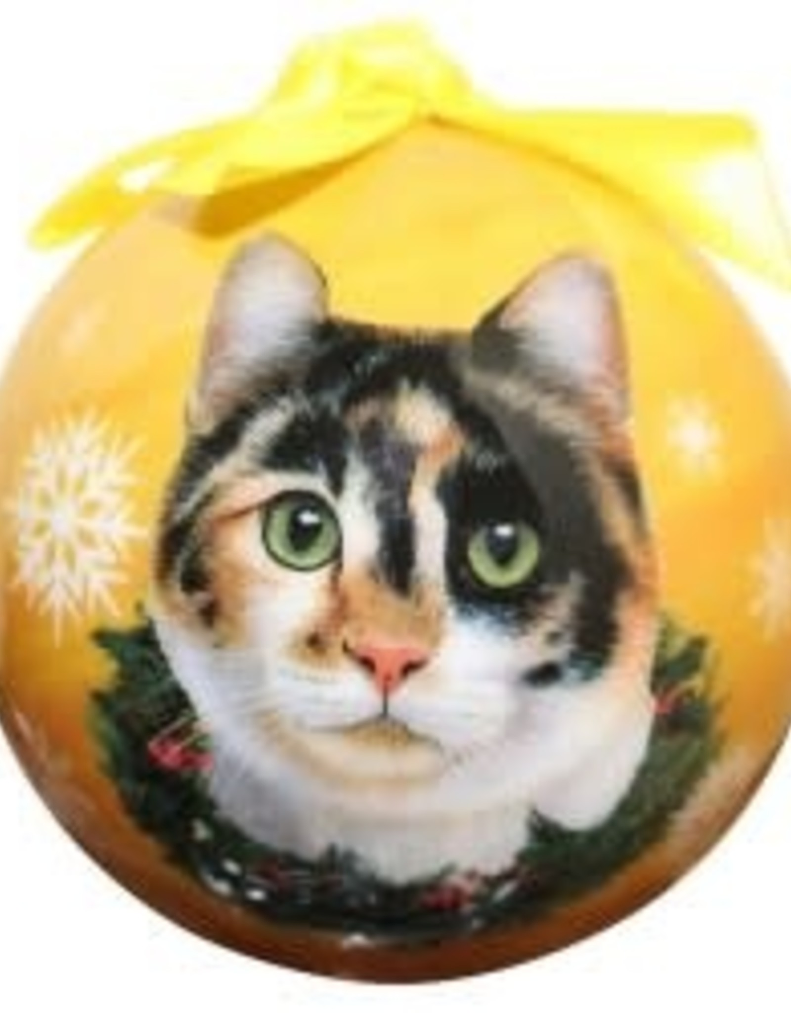 Cat - Calico Ornament
