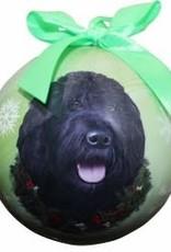 Labradoodle - Black Ornament