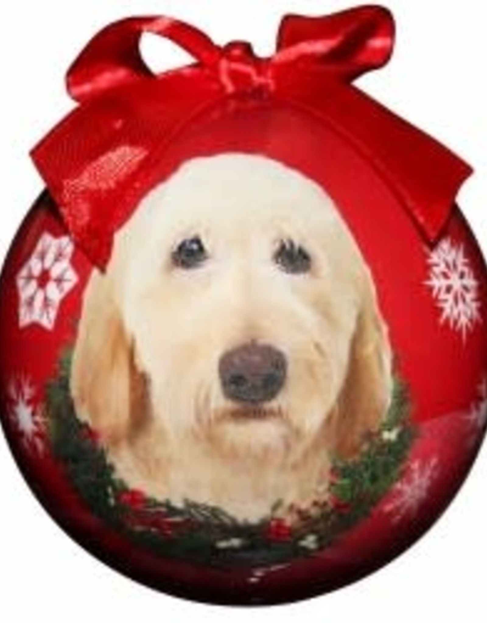 Labradoodle - Yellow Ornament