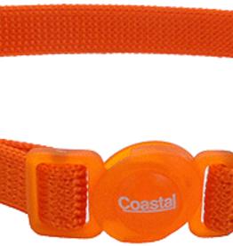 Coastal Cat Collar Sunset Orange