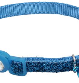 Coastal Cat Collar Blue Lagoon Glitter