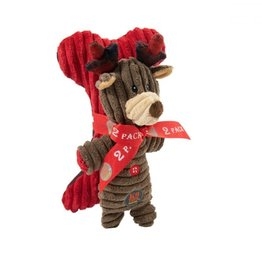 Outward Hound Frosty Fellows Reindeer 2 Pack