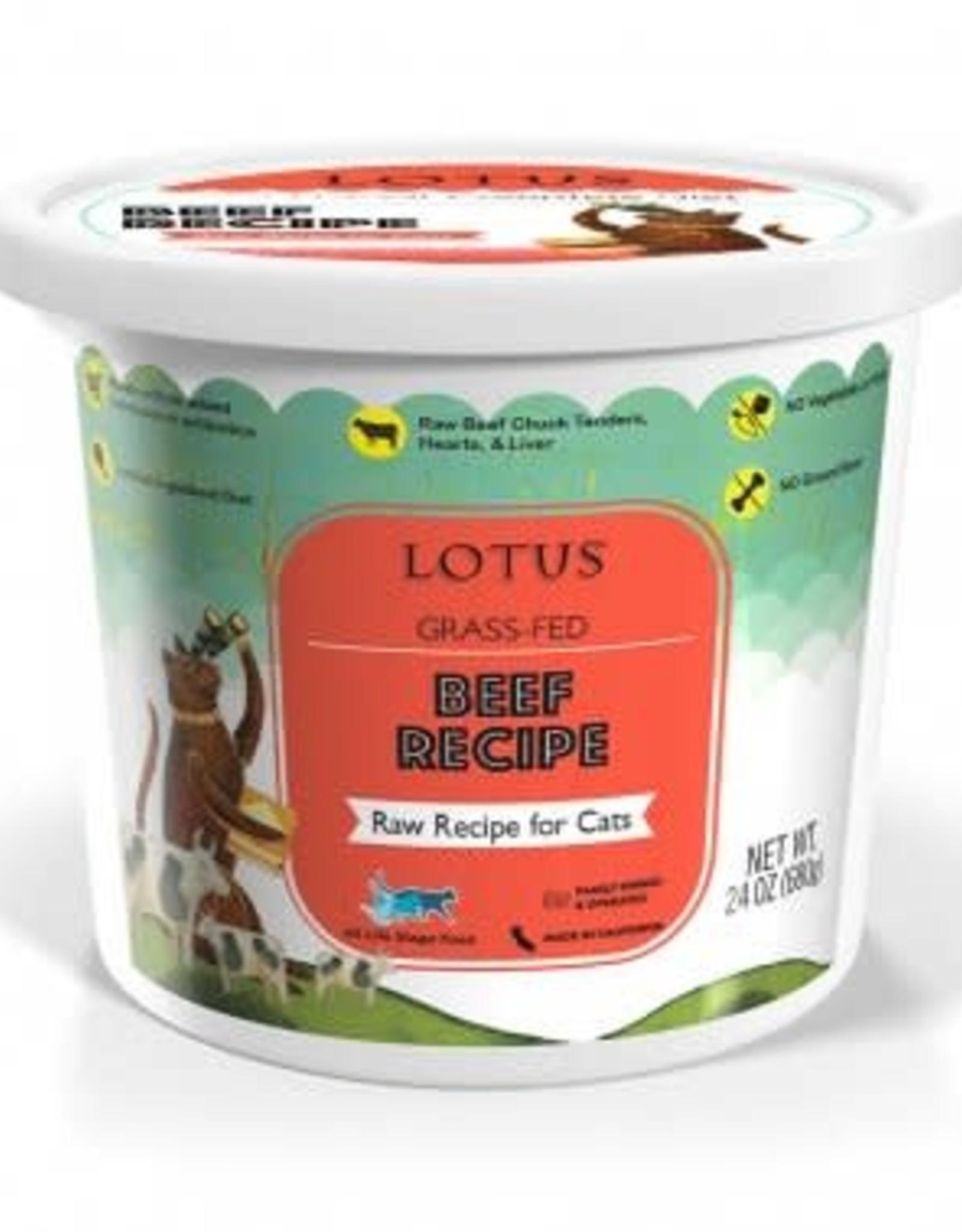 Lotus Lotus Cat Raw Beef