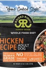 SALE - Raised Right Chicken Adult Dog Recipe