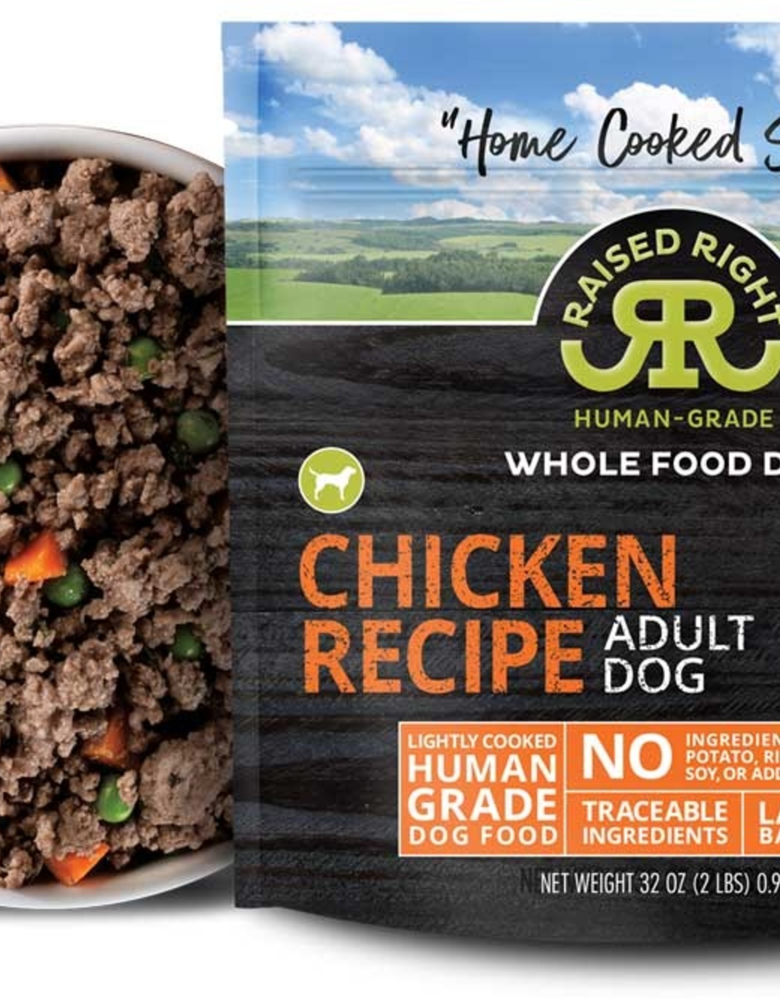 Raised Right Raised Right Chicken Adult Dog Recipe