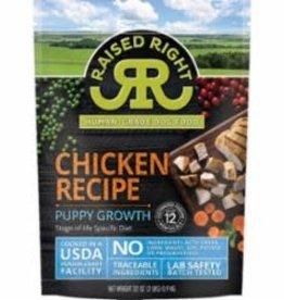 Raised Right SALE - Raised Right Chicken Puppy Growth Recipe