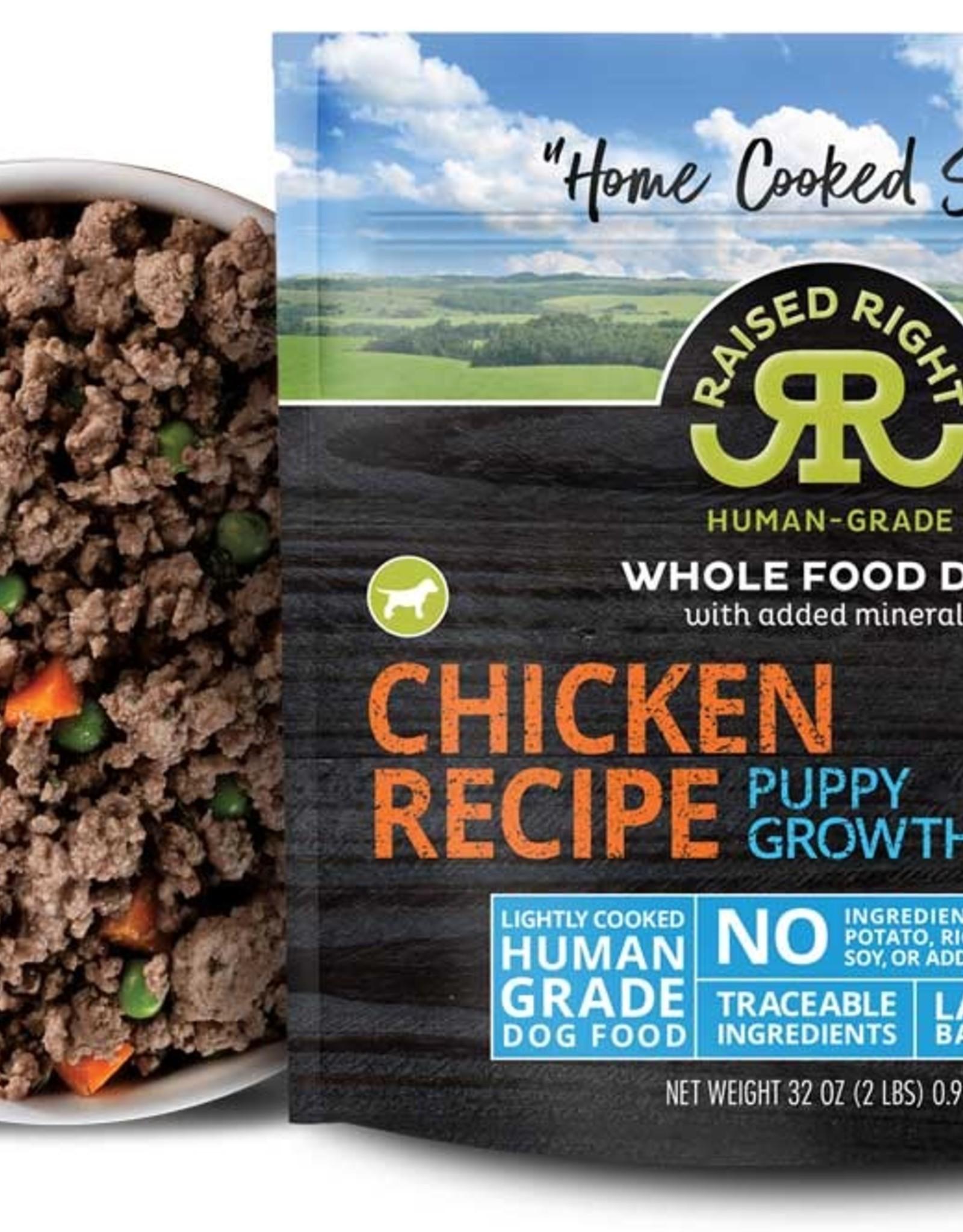 Raised Right Raised Right Chicken Puppy Growth Recipe