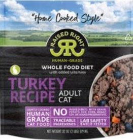 Raised Right Raised Right Turkey Adult Cat Recipe