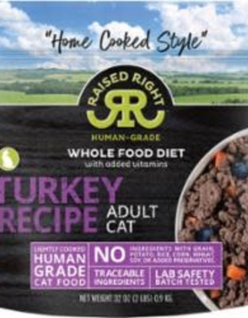 Raised Right Raised Right Turkey Adult Cat Recipe