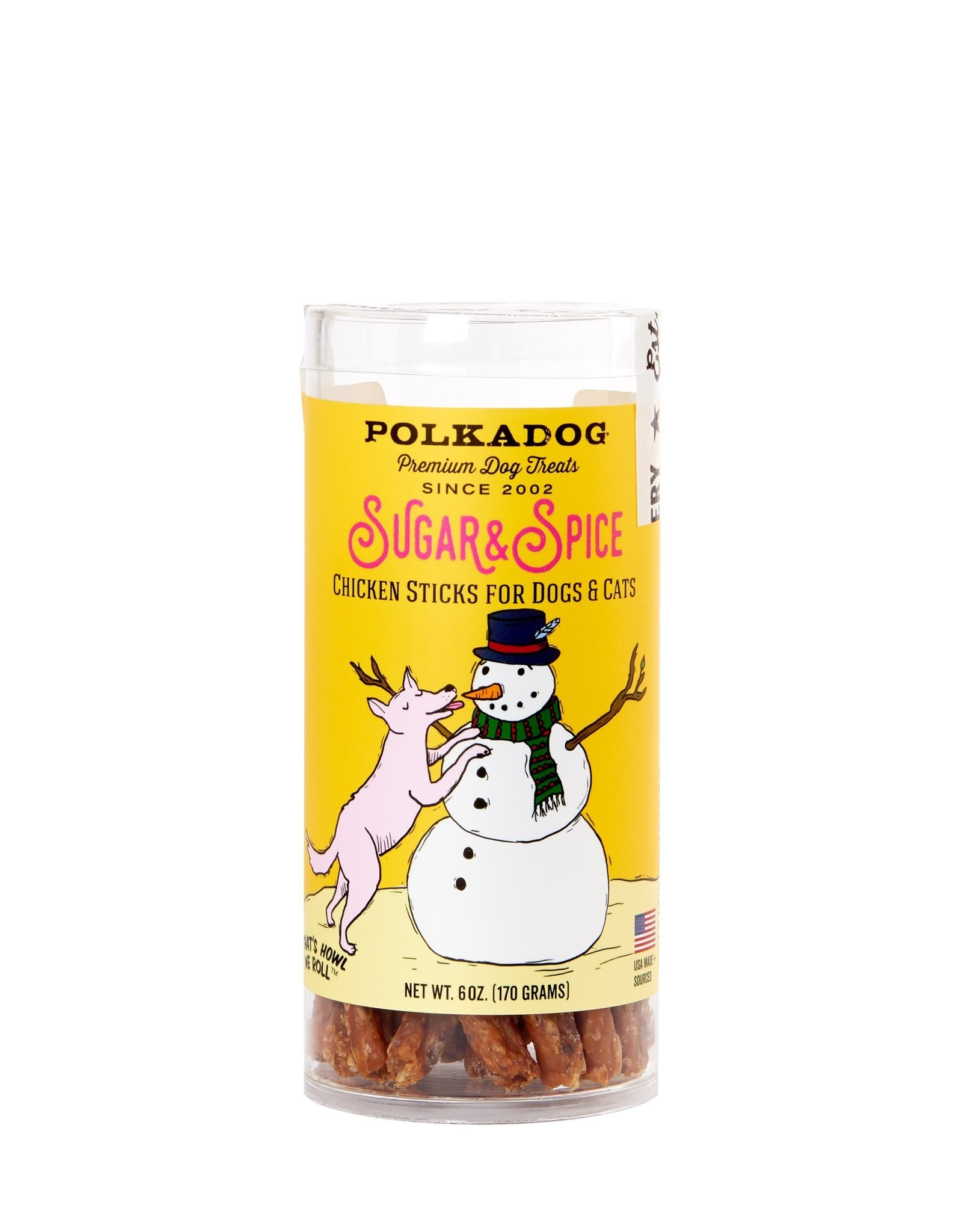 Polka Dog SALE - Polka Dog Holiday Sugar & Spice - Chicken Cranberry