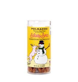 Polka Dog SALE - Polka Dog Holiday Sugar & Spice - Chicken Cranberry