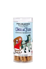 Polka Dog SALE - Polka Dog Holiday Tinsel & Flock - Clam Chowda Sticks